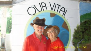 Carl & Bernie Our Vital Earth Logo