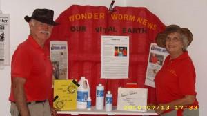 Carl & Bernie with Our Vital Earth Supplies